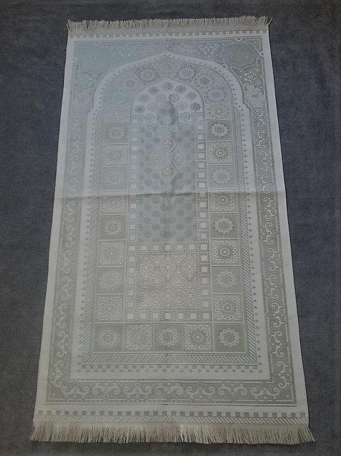 トルコ製礼拝マット TUR-521 ホワイト