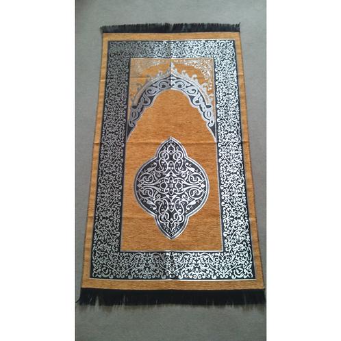トルコ製礼拝マット TUR-015 オレンジ