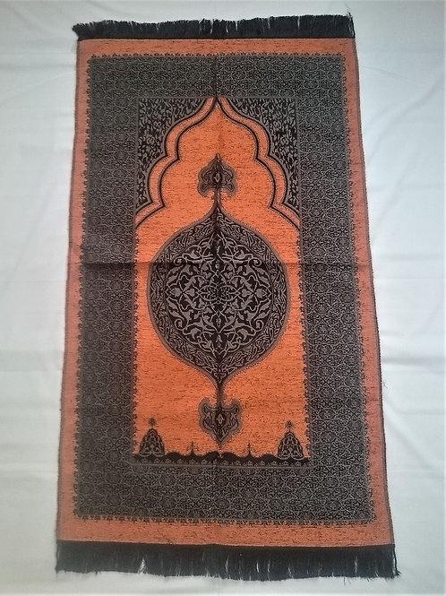 トルコ製礼拝マット TUR-018 オレンジ