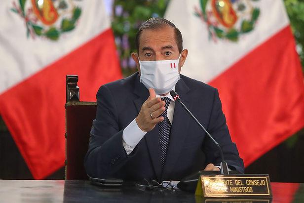 """Martos a su gabinete ministerial: """"Gracias por su amor al Perú"""""""