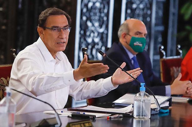 Martín Vizcarra anuncia ampliación de estado de emergencia hasta fines de noviembre