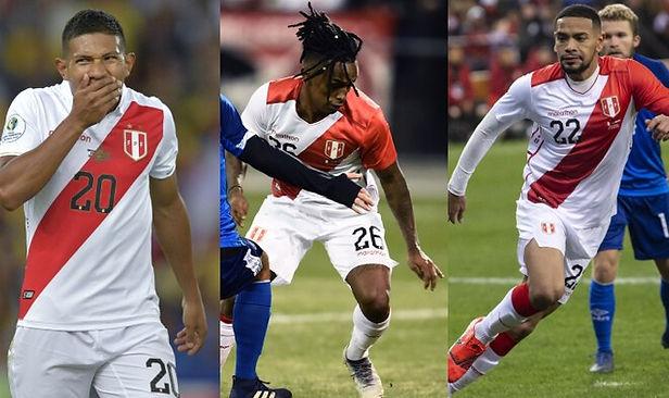 Eliminatorias: Flores, Reyna y Callens no llegarán para sumarse a la Selección Peruana