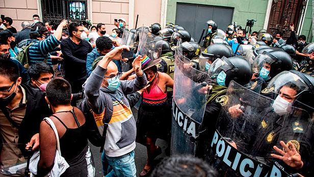 Convocan para este jueves nueva marcha nacional contra Manuel Merino