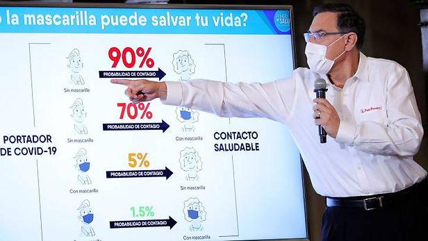 """Martín Vizcarra: """"Estamos preparados para un rebrote"""""""