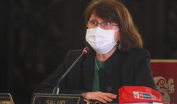La ministra de Salud, Pilar Mazzetti pide que niños no salgan de casa por Halloween