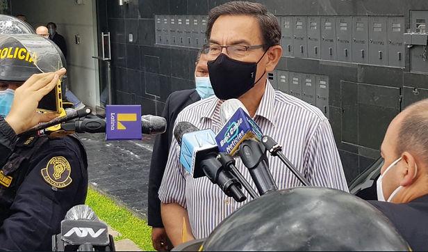"""Martín Vizcarra: """"Para ejercer el cargo se necesita legalidad y legitimidad"""""""