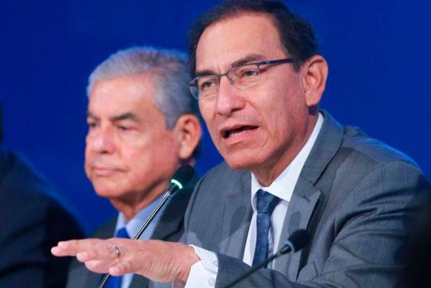 Unión por el Perú buscará nueva moción de vacancia contra Martín Vizcarra