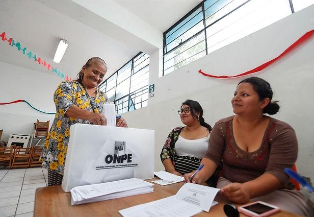 Miembros de mesa recibirán 129 soles en elecciones de 2021