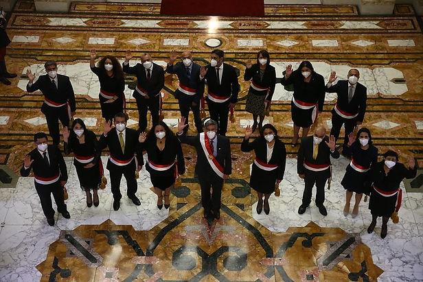 Francisco Sagasti ya tiene nuevo gabinete liderado por un Mujer