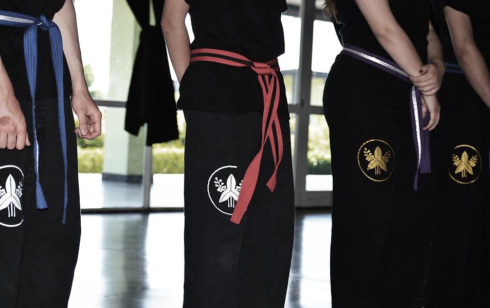 cintos de artes marciales