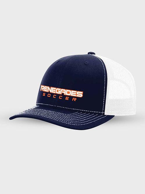 Navy Trucker Hat