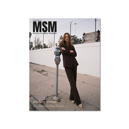 The Social Experiment - Issue 001 - Jessie Andrews Cover