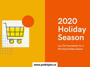 Quick Holiday Season eCom checklist to CRUSH your Online Sales!