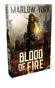 Blood of Fire by Marlow York
