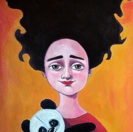 Little ladybug and her panda