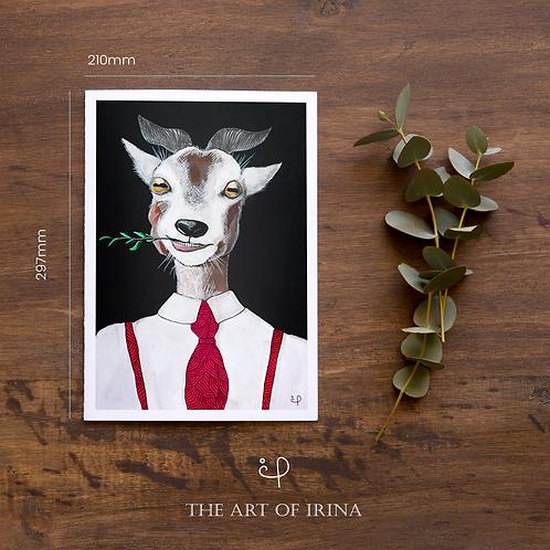"Print ""Mr. Goat"""