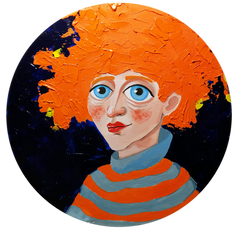 Carrot hair