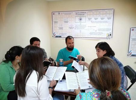 Encuentro RINDE con-Ciencia junto a profesores mentores de la Región de O´Higgins