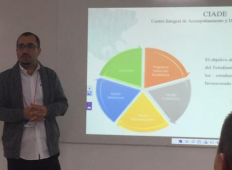Felipe Rojas participa en congreso internacional en Colombia
