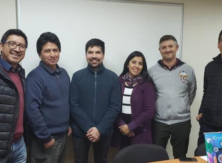 Grupo Ciencia y Enseñanza desarrolla taller con profesores de biología en servicio sobre la Meiosis