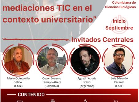 Invitado a Diplomado Internacional sobre la Enseñanza de las Ciencias Naturales