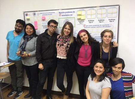 Estudiantes del programa de Magíster en Educación mención didáctica e innovación pedagógica de la Un