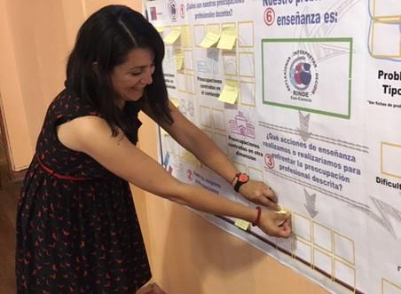 Profesores y profesoras de la Provincial Santiago Oriente reflexionan sobre su práctica con RINDE co