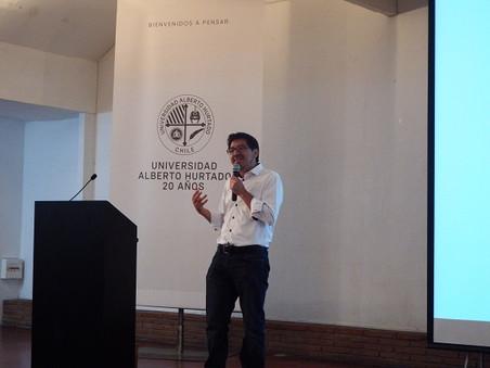 Participación en el Seminario Educación en Ciencias y Diversidad en la Universidad Alberto Hurtado