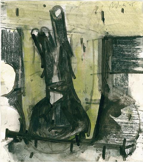Christian Ulrich, Rhizom II, Zeichnung