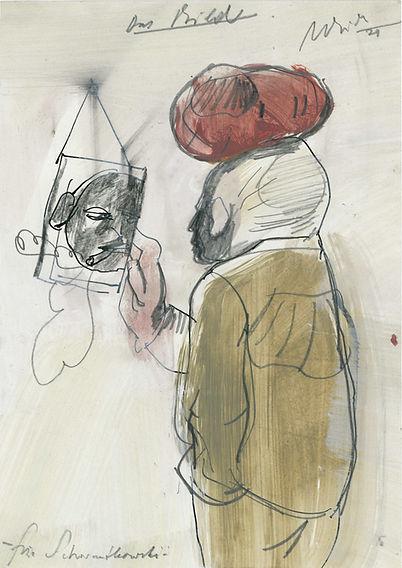 Christian Ulrich, Zeichnung, Das Bild