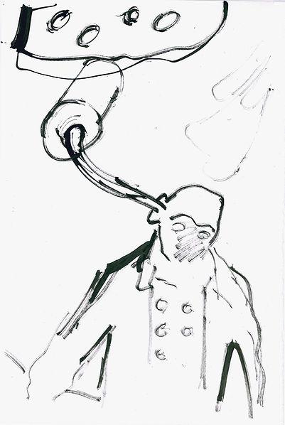 Christian Ulrich, Zeichnung, Bthvn I