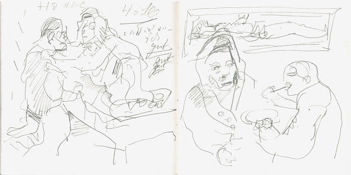 christian Ulric, 2016, Zeichenbuch