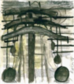 Chistian Ulrich, 2015, Joch, Zeichnung
