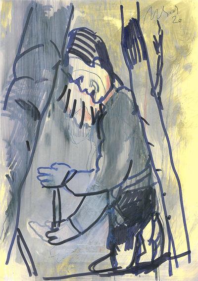 Christian Ulrich, Zeichnung, Dazwischen