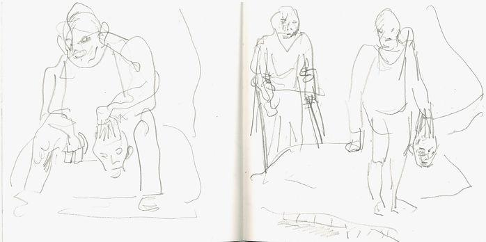 Christian Urich, 2016, Zeichenbuch