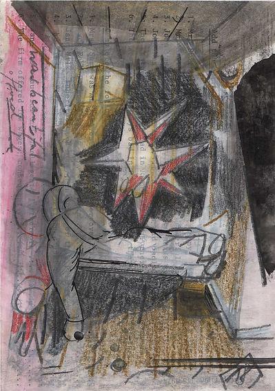 Christian Ulrich, 2018, Kammer, Zeichnung