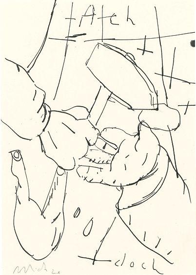 Christian Ulrich, Zeichnung, Ach doch