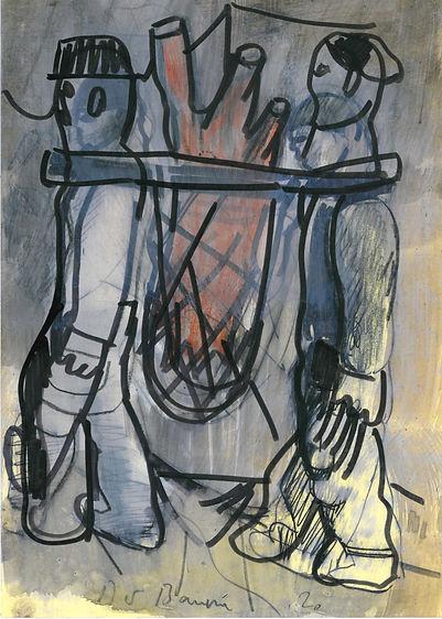 Christian Ulrich, Zeichnung, Der Baum