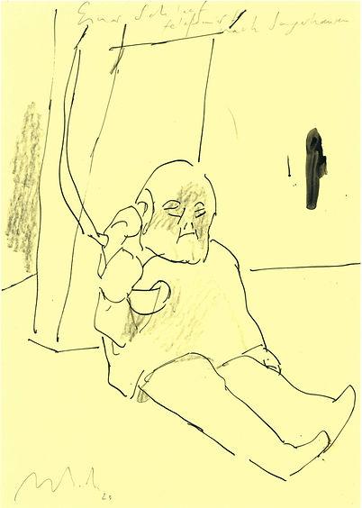 Christian Ulrich, Zeichnung, Einar I.