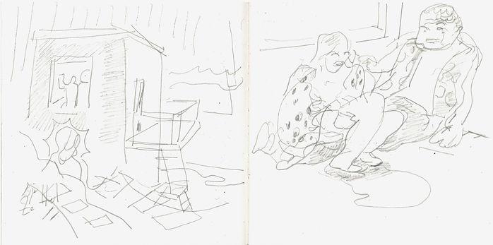 Christian Ulrich, 2016, Zeichenbuch
