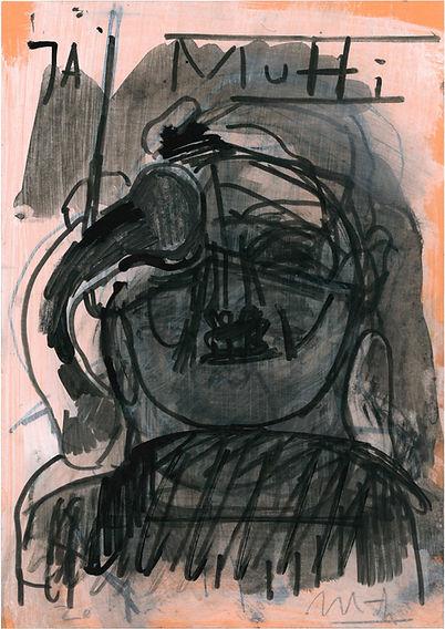 Christian Ulrich, Zeichnung, Ja, Mutti