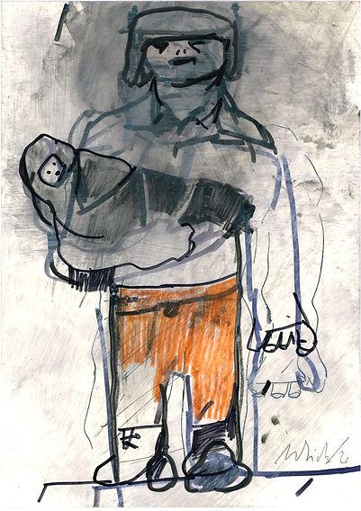 Christian Ulrich, Zeichnung, o.T.