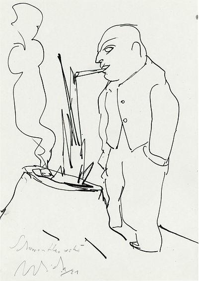 Christian Ulrich, Zeichnung, Schwontkowski I.jpg