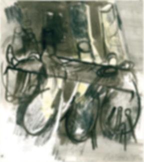 Christian Ulrich, 2015, Rhizom, Zeichnung