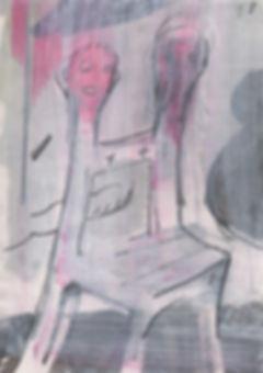 Chistian Ulrich, 2018, o.T., Zeichnung