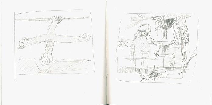 Chrisian Ulric, 2016, Zeichenbuch