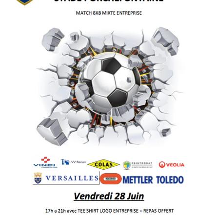 Tournoi Football Entreprise