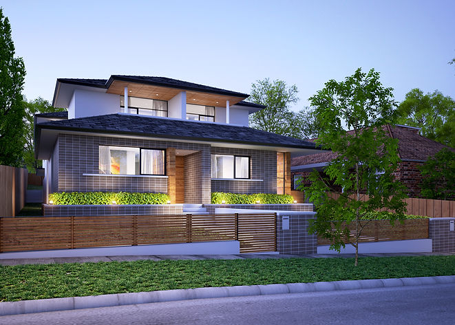 Classic House Design in Hunters Hill