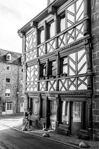 Rue Quinquaine à Saint Brieuc