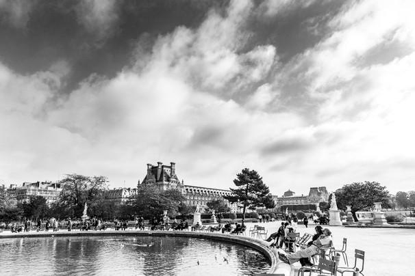 Jardin des Tuileries - Grand Bassin Rond